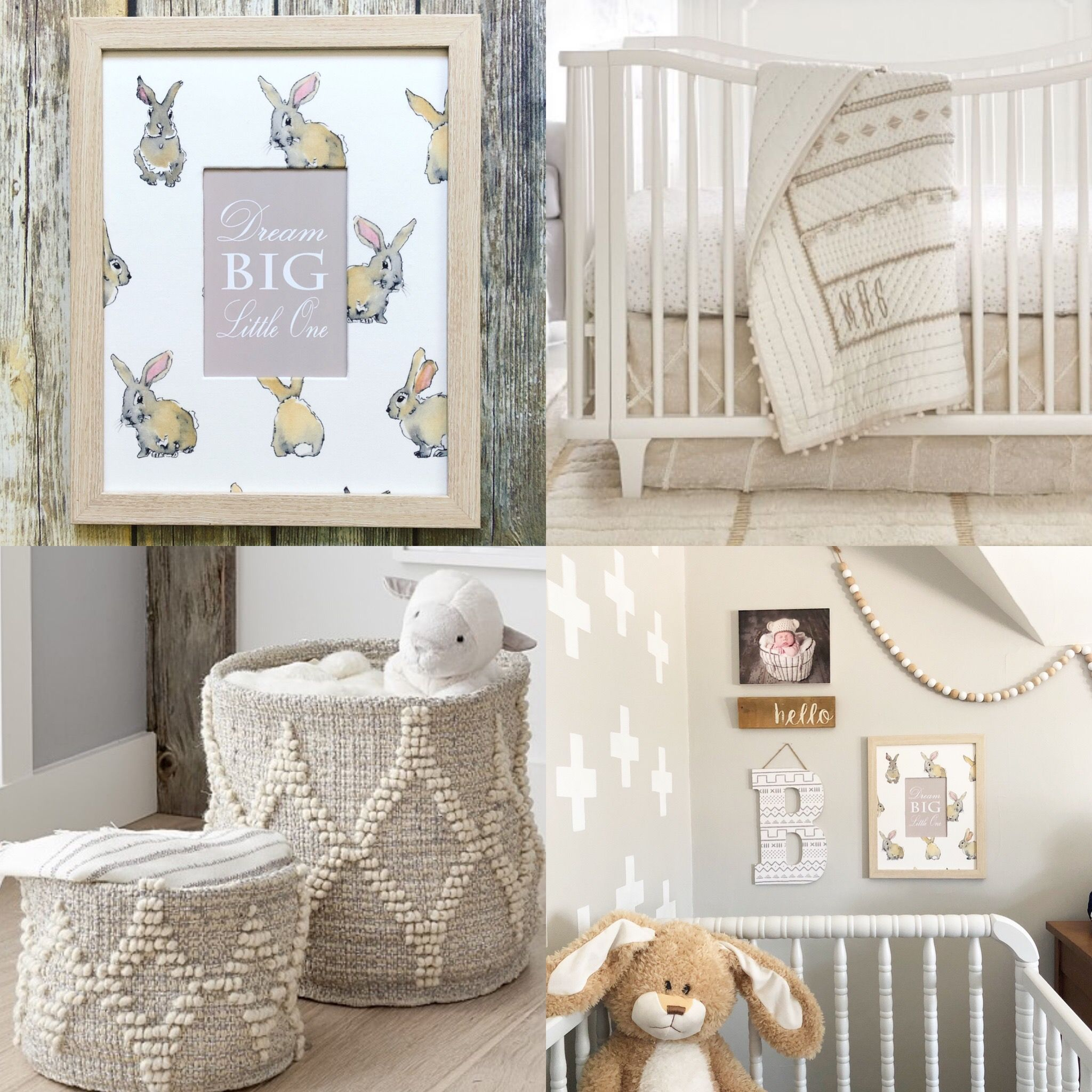 Pottery Barn Kids Micah Metallic Nursery Bedding Gender Neutral