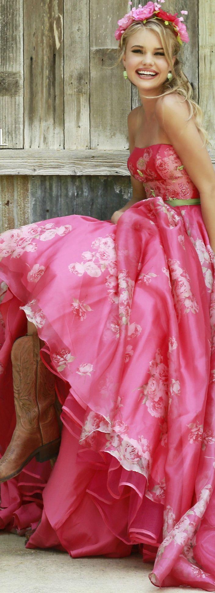 Sherri Hill | Pink | Pinterest | Rosas, Fucsia y Rosas fucsia
