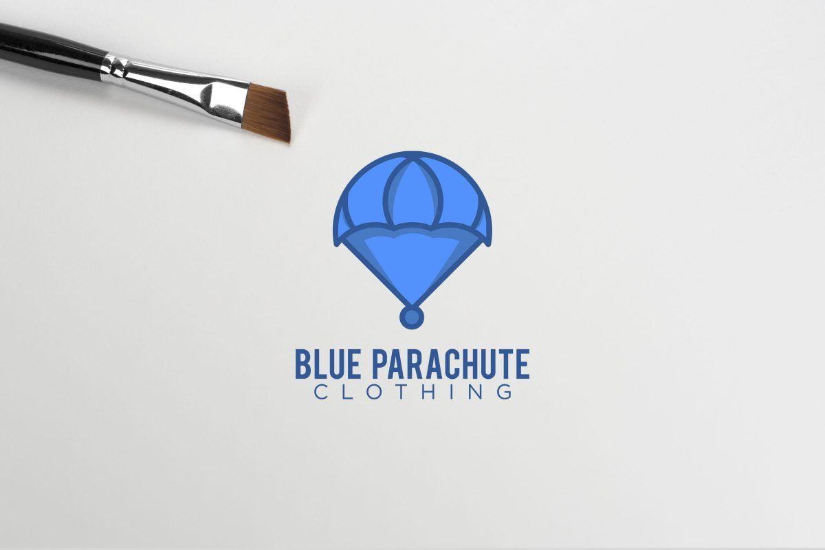 Blue Parachute Clothing Brand Logo Design Ideas Clothing Brand Logos Minimalist Logo Design Logo Design