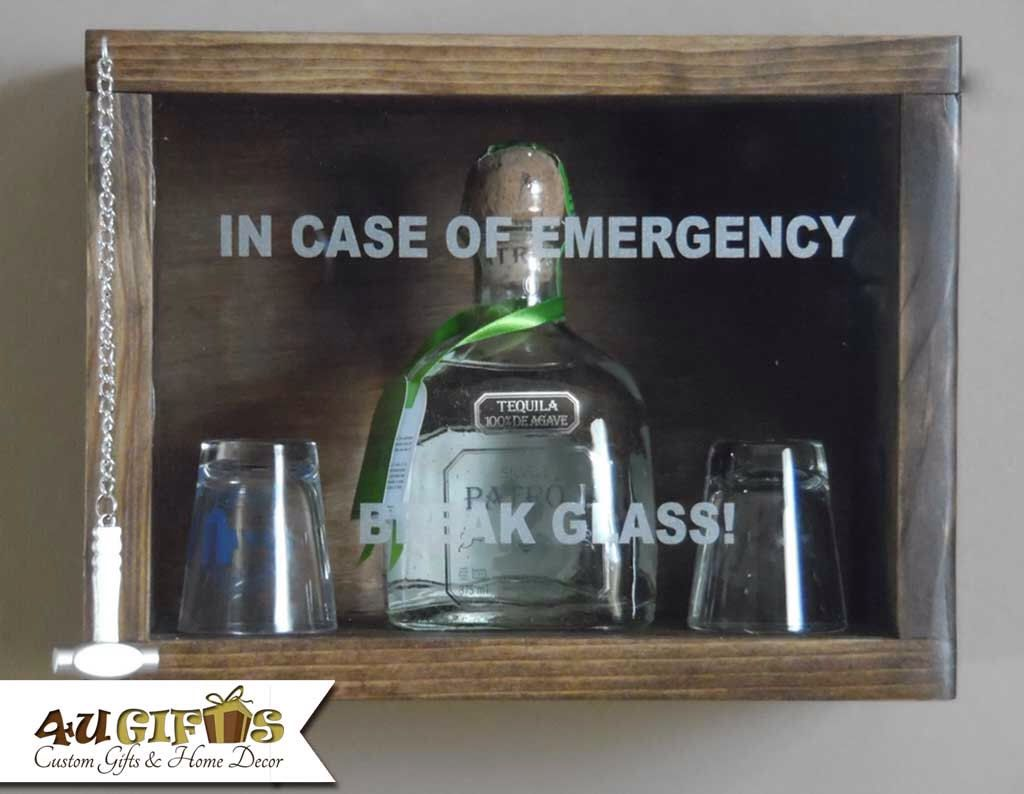 in case of emergency break glass patron or similar size