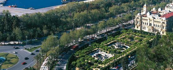 Parque de Málaga park