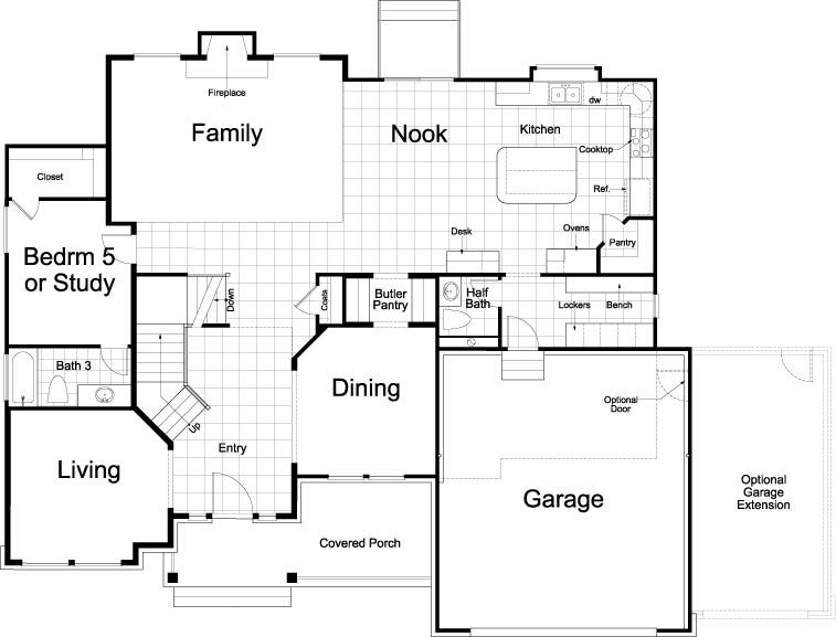 Hanover Traditional Home Design For New Homes In Utah Home Design Floor Plans Floor Plan Design Floor Plans