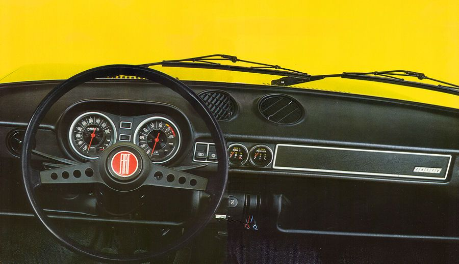 Fiat 128 Rally Interior 1971 Fiat 128 Fiat Fiat Abarth