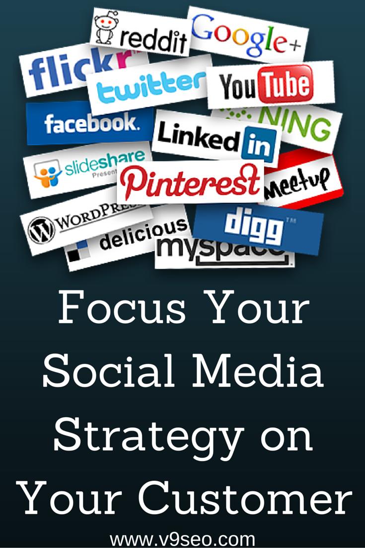 Focus Your Social Media Strategy on Your Customer http://bit.ly/1NNwncX   #socialmediamarketing #socialmediatips #SMM