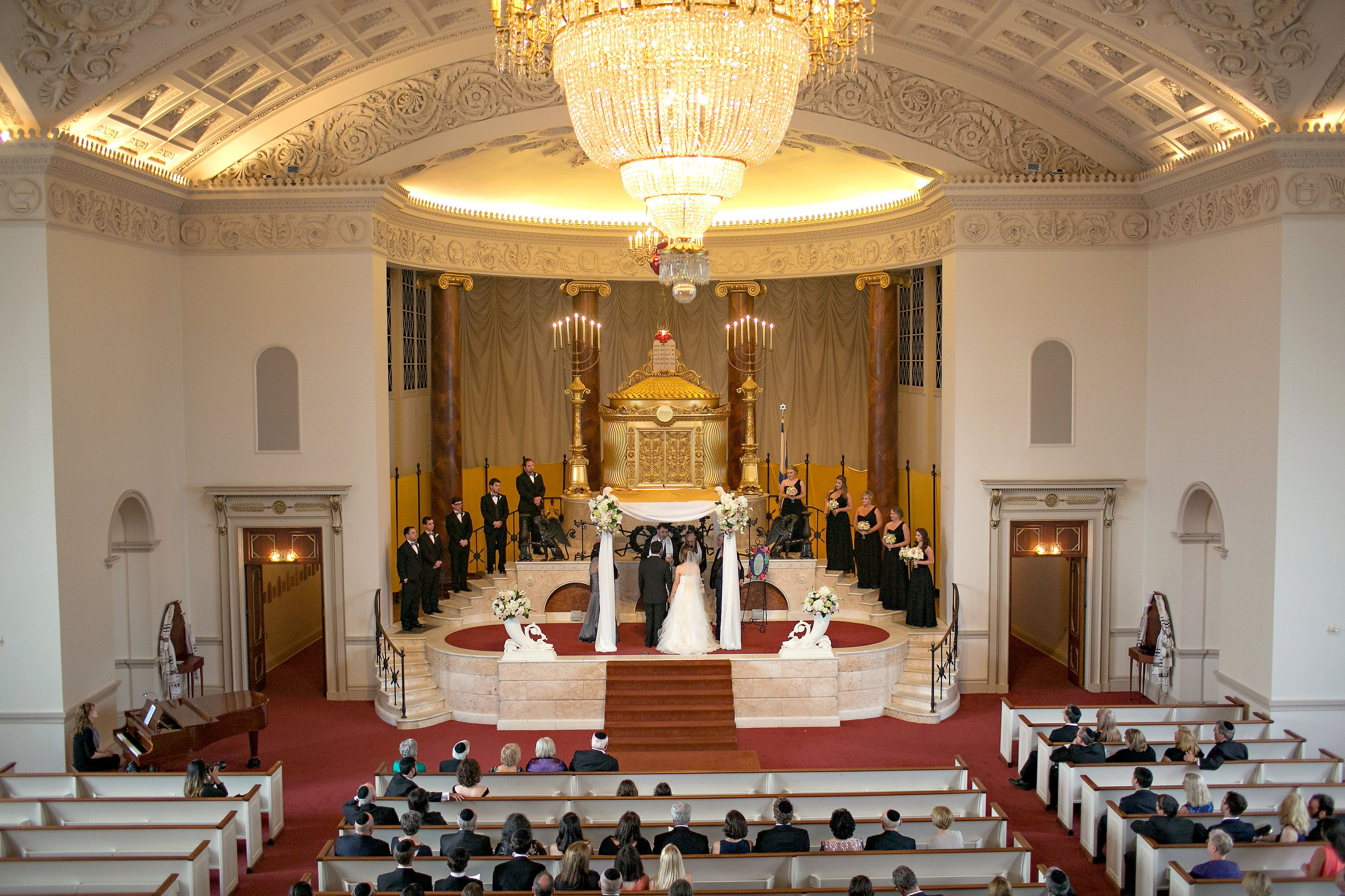 The Temple Atlanta Wedding With Jewish Chair Dance Song Atlanta