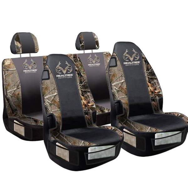 Realtree Camo Universal Bucket Seat Cover For My New Car