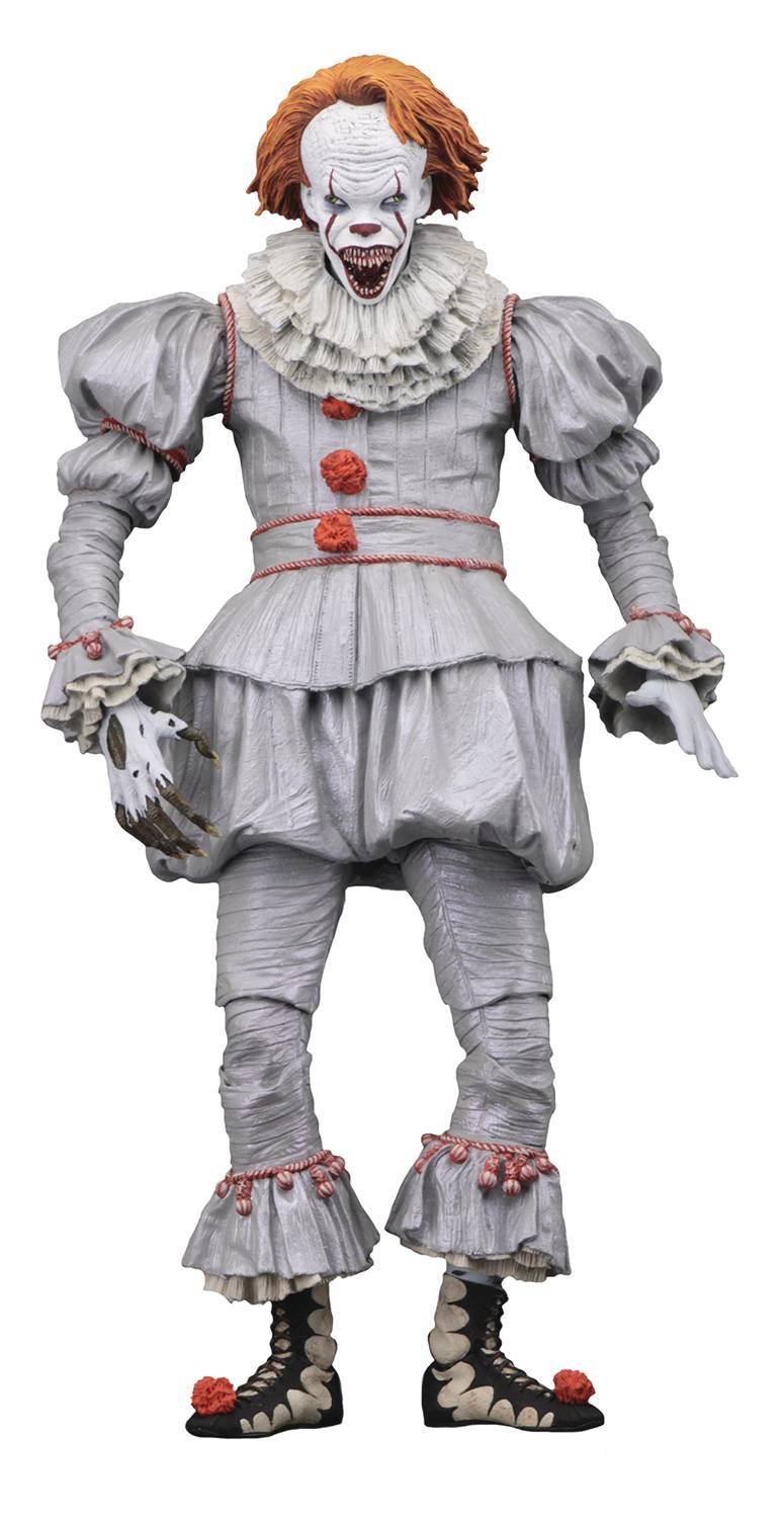 NECA Stephen King/'s It  The Clown Pennywise Action Figure Toy Set Horror Scene