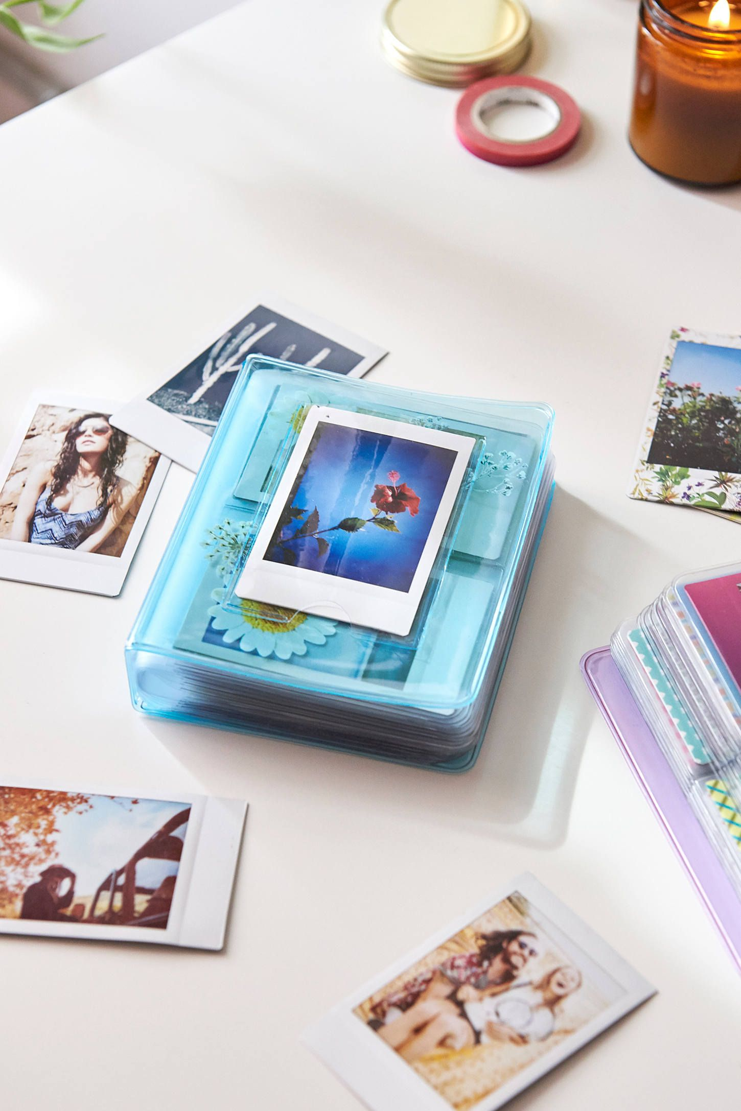 Floral Instax Mini Photo Album