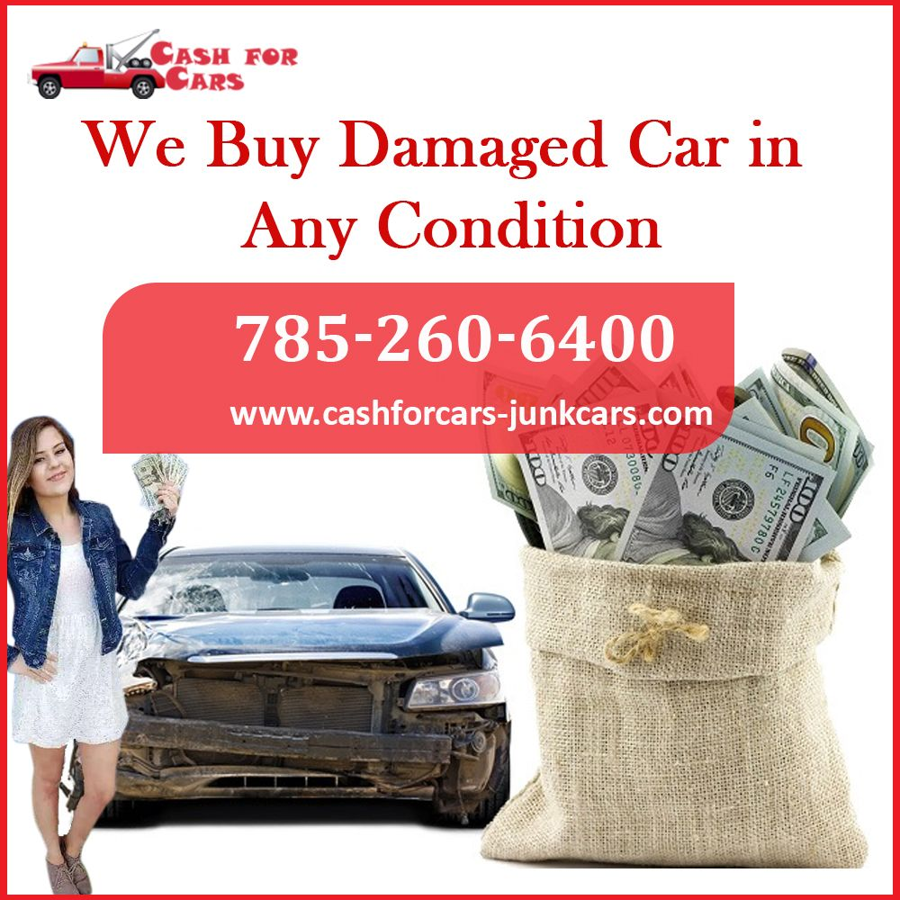 The vehicle can be in any condition damage or junk but