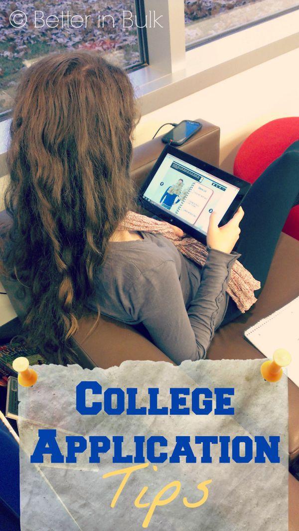 007 College Application Tips IntelTablets Better in Bulk
