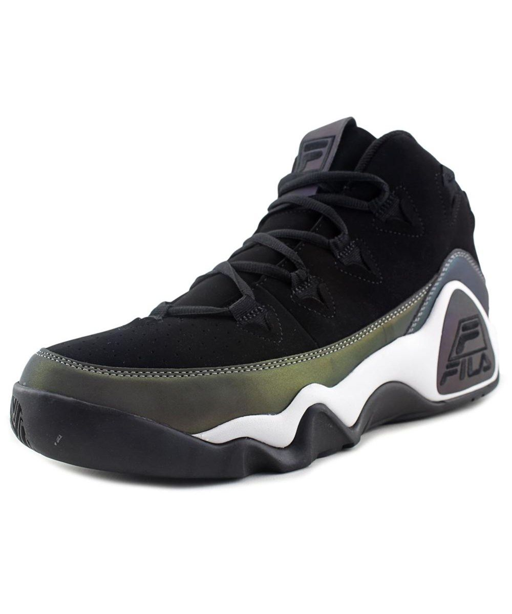 c6197865f088 FILA Fila 95 Men Round Toe Suede Black Sneakers .  fila  shoes  sneakers