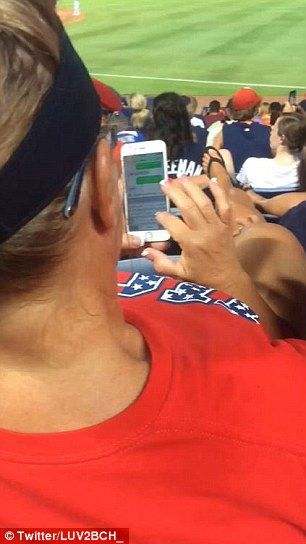 Wife Caught Cheating On Husband By Baseball Fans Sat -3847