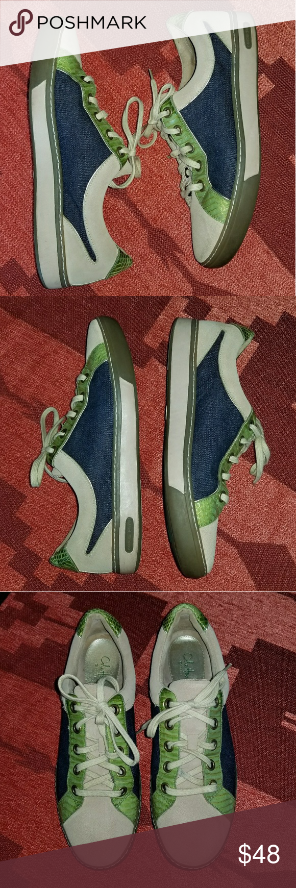 Cole Haan Nike Air Denim Lifestyle Shoe In good condition. Cole Haan Shoes Sneakers