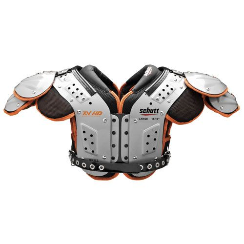Schutt 8013 Xv Hd Skill Varsity Football Shoulder Pad 801317 Running Backs Tight Ends Defensive Football Shoulder Pads Football Shoulder Pad Shoulder Pads