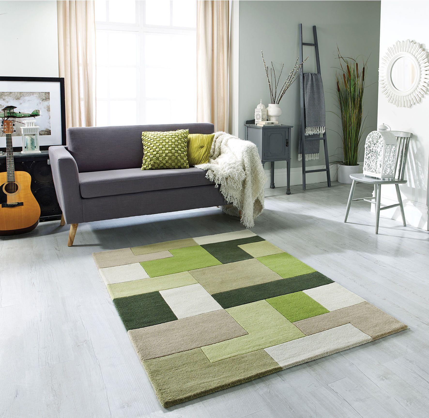 Lexus Green Rug With Images Green Rug Living Room Green Rug