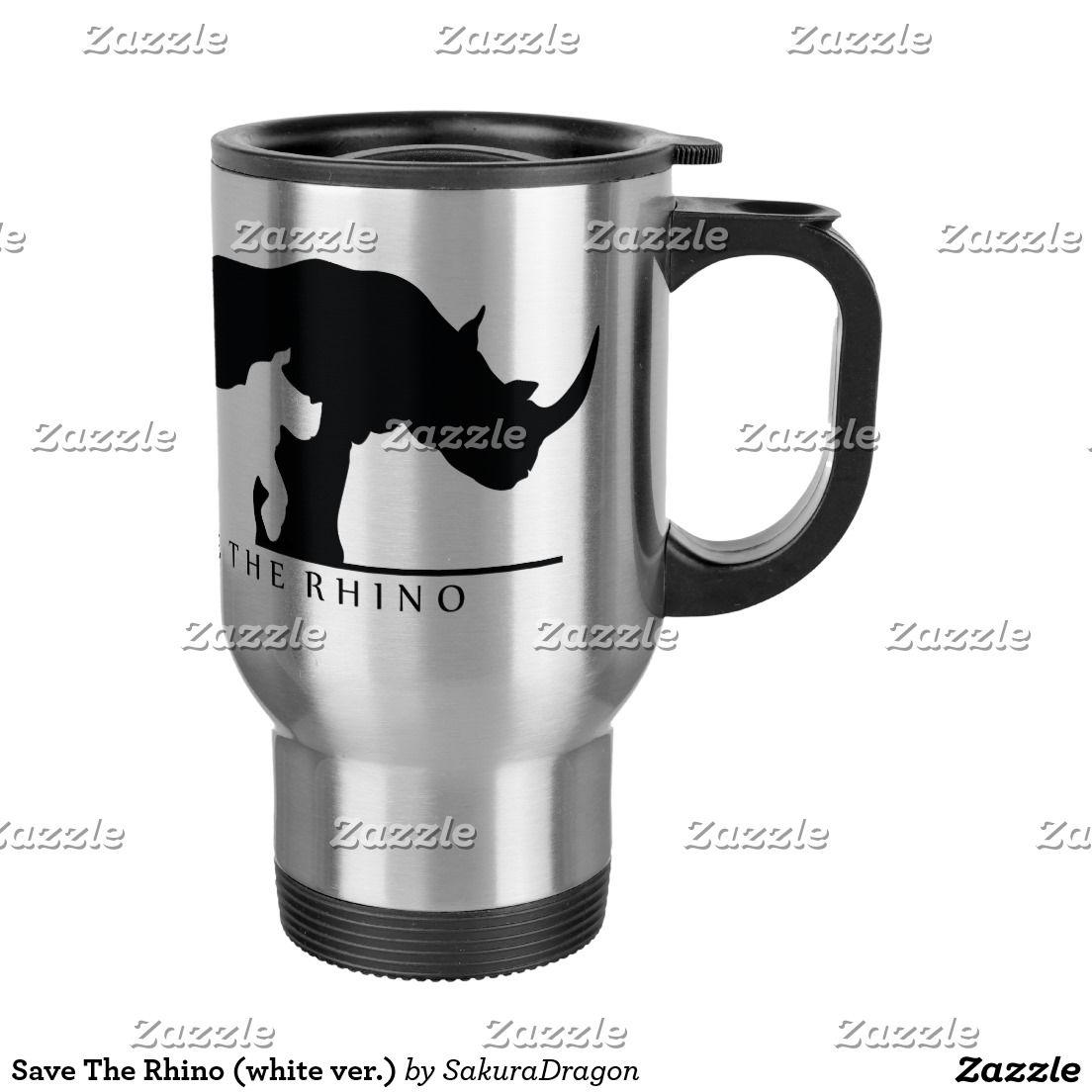 Rhinowhite Save Best VerTravel The MugZazzle AL34R5jq