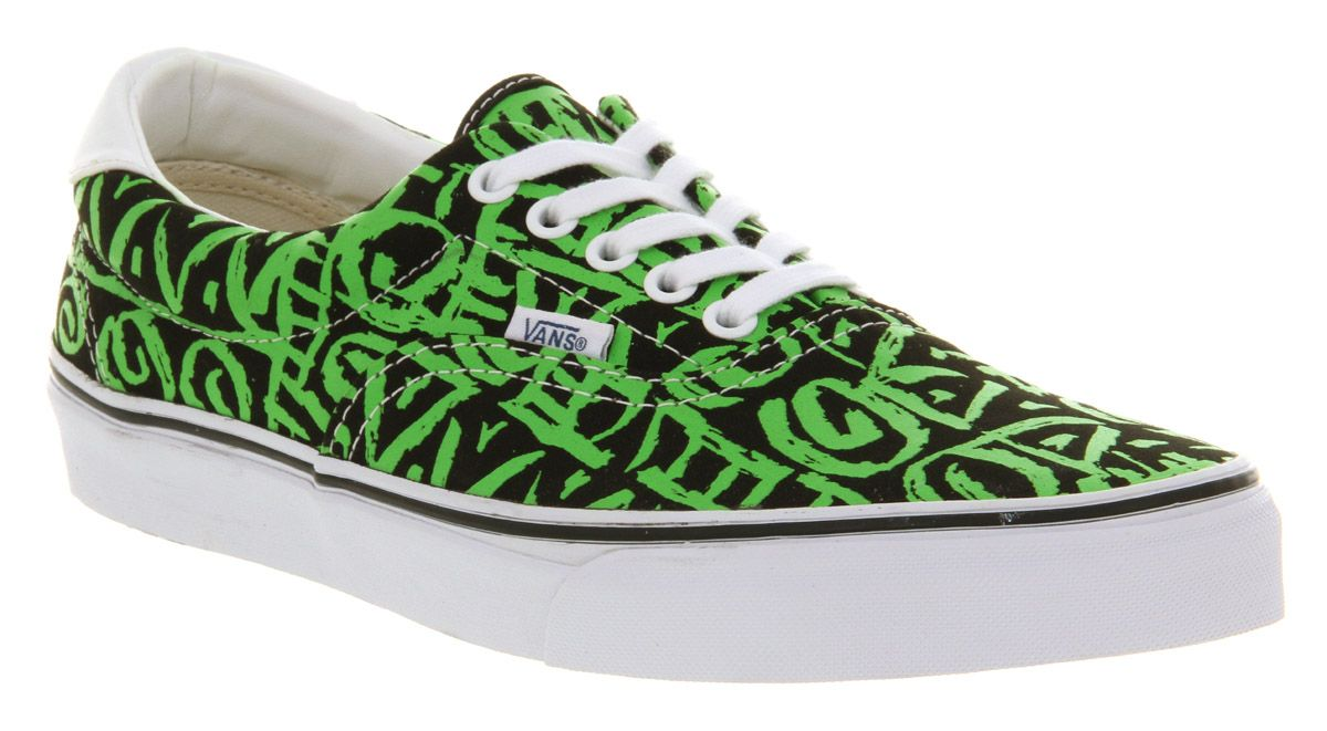mens vans shoes green
