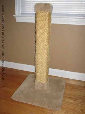 Cat Tree Plans To Make Your Own Cat Tree Simple Easy Diy Instructions On How To Build Your Own Cat Tree And Cat Furniture Scratching Post And Cat Tower