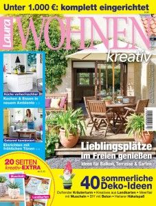 Ideal Laura WOHNEN kreativ Zeitschriften Magazine im Abo auf bauer plus de