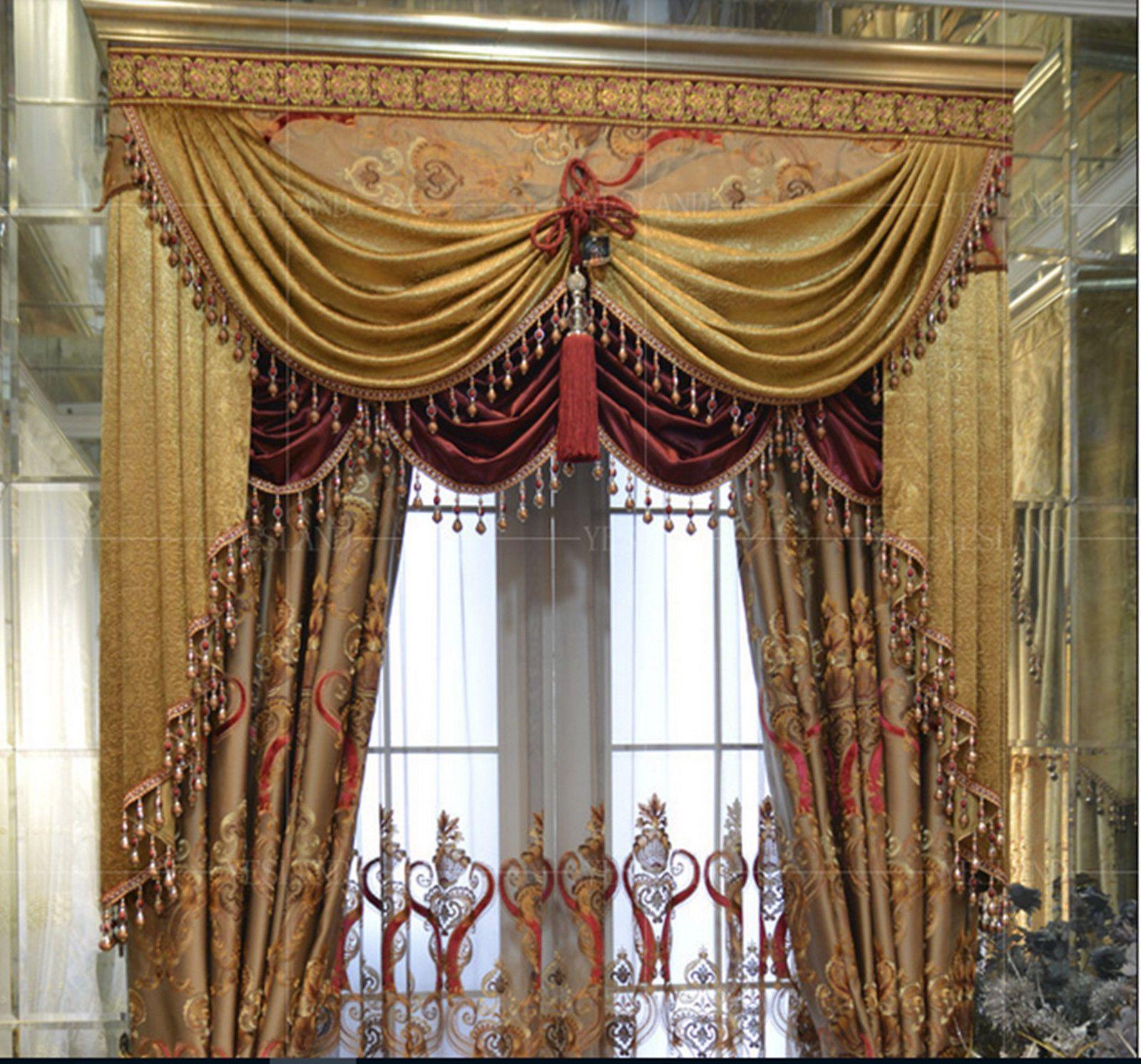 1m Curtain Sewing Fringe Trim Tassel New Beaded Fringe Trim