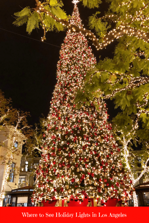 Where To See Holiday Lights In The Los Angeles Area Momsla Holiday Lights Holiday Lights Display Los Angeles Holidays