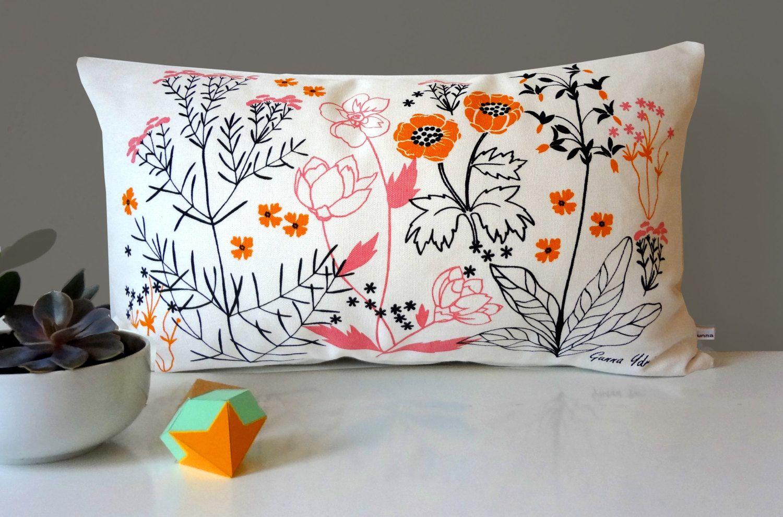 Patterned cotton pillow case Pigeon