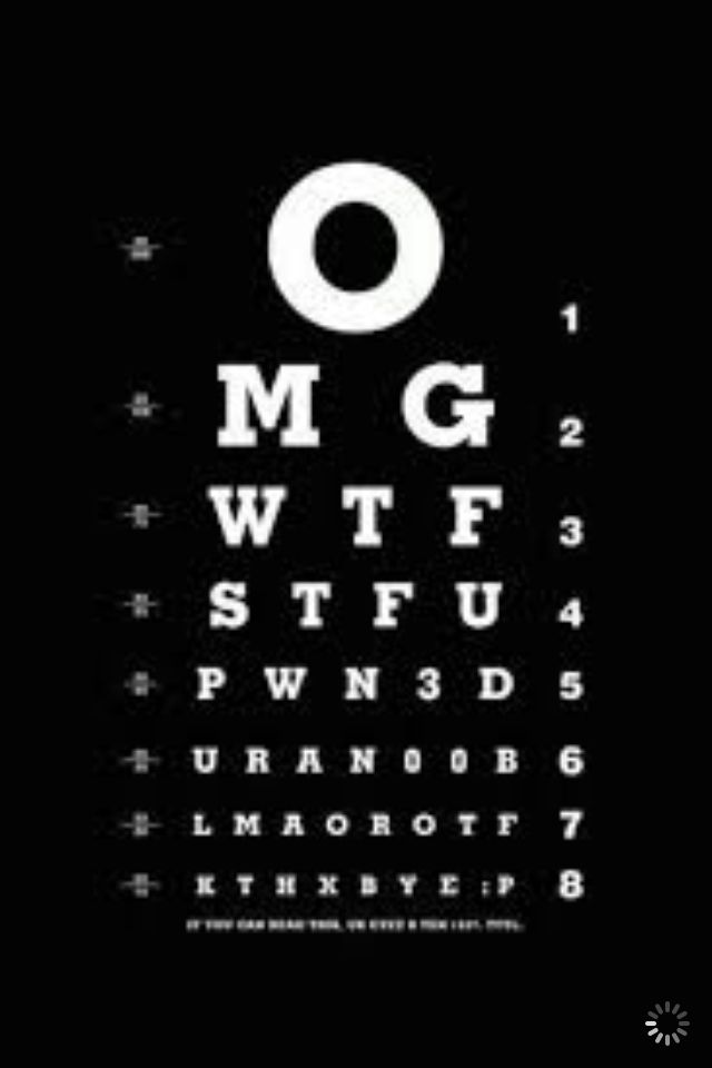 Found this laughing cool wall papers for i phone pinterest new funny eye test chart apple iphone 4 hard case cover black voltagebd Gallery