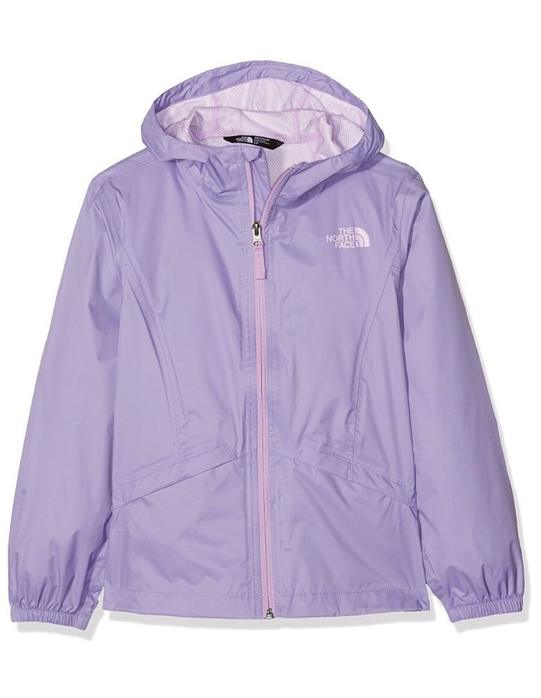 4515c01411a44 North Face Girls Zipline Rain Jacket Size S