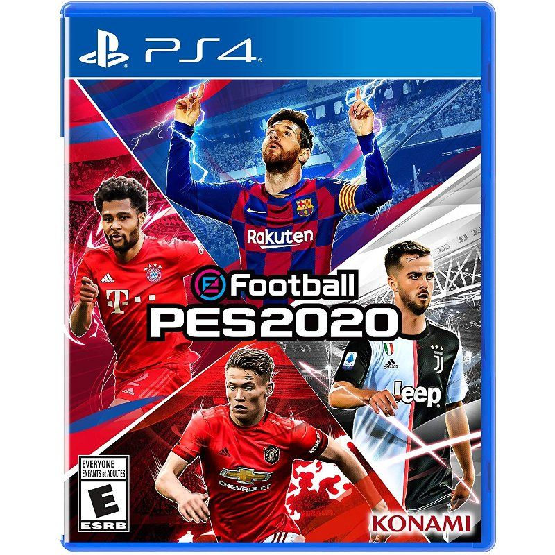 Efootball Pro Evolution Soccer 2020 Ps4 Evolution Soccer Pro