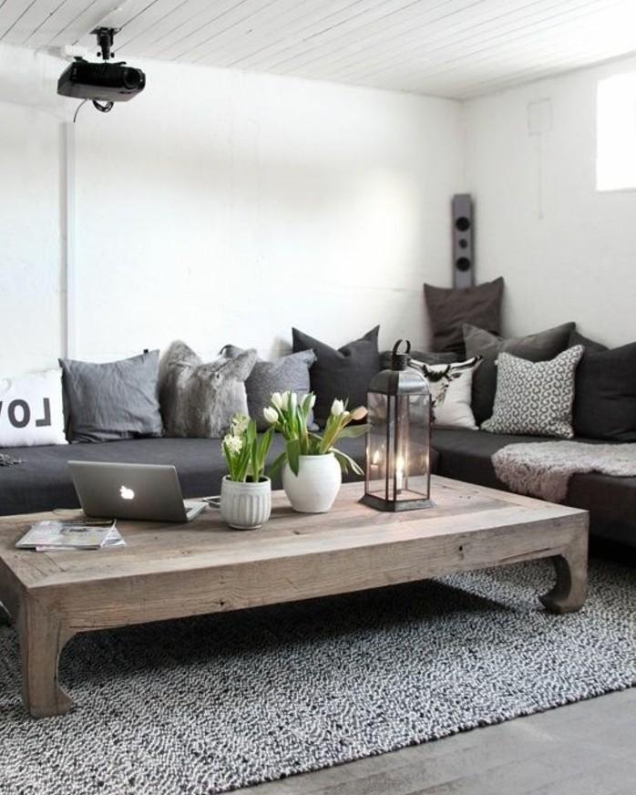 Photo of Un salon en gris et blanc, c'est chic! Voilà 82 photos qui en témoignent