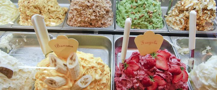Where to eat ice cream.