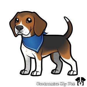 Beagle Beagle Art Dog Drawing Walking Cartoon
