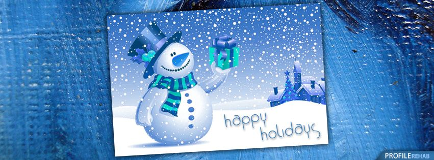 Winter Holiday Facebook Covers