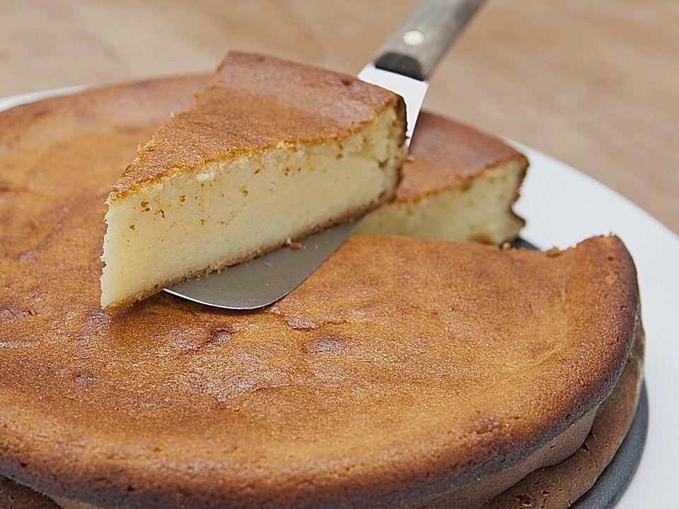 Saftiger Käsekuchen ohne Boden von chefkoch | Chefkoch