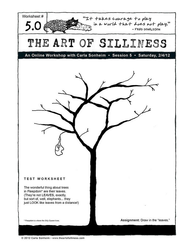 worksheet Art Therapy Worksheets the art of silliness worksheets draw and leaf for adults drawing flickr