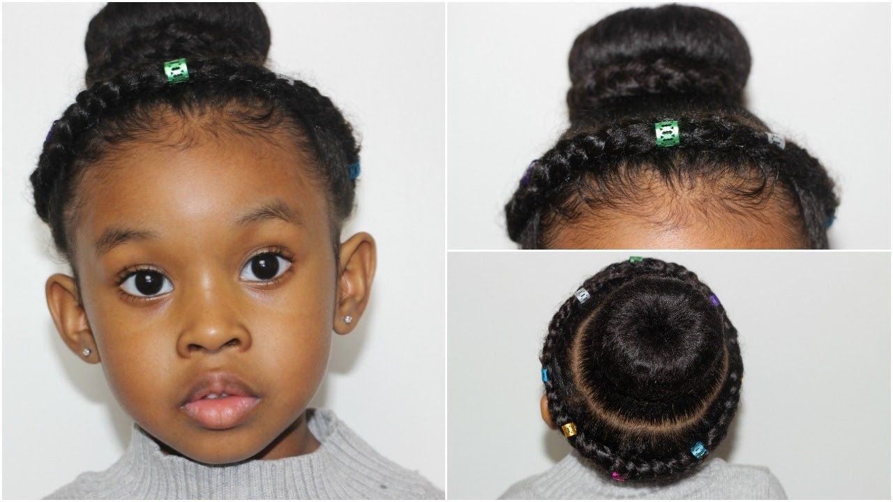 Crown Braided Bun Hairstyles For Girls With Images Braided