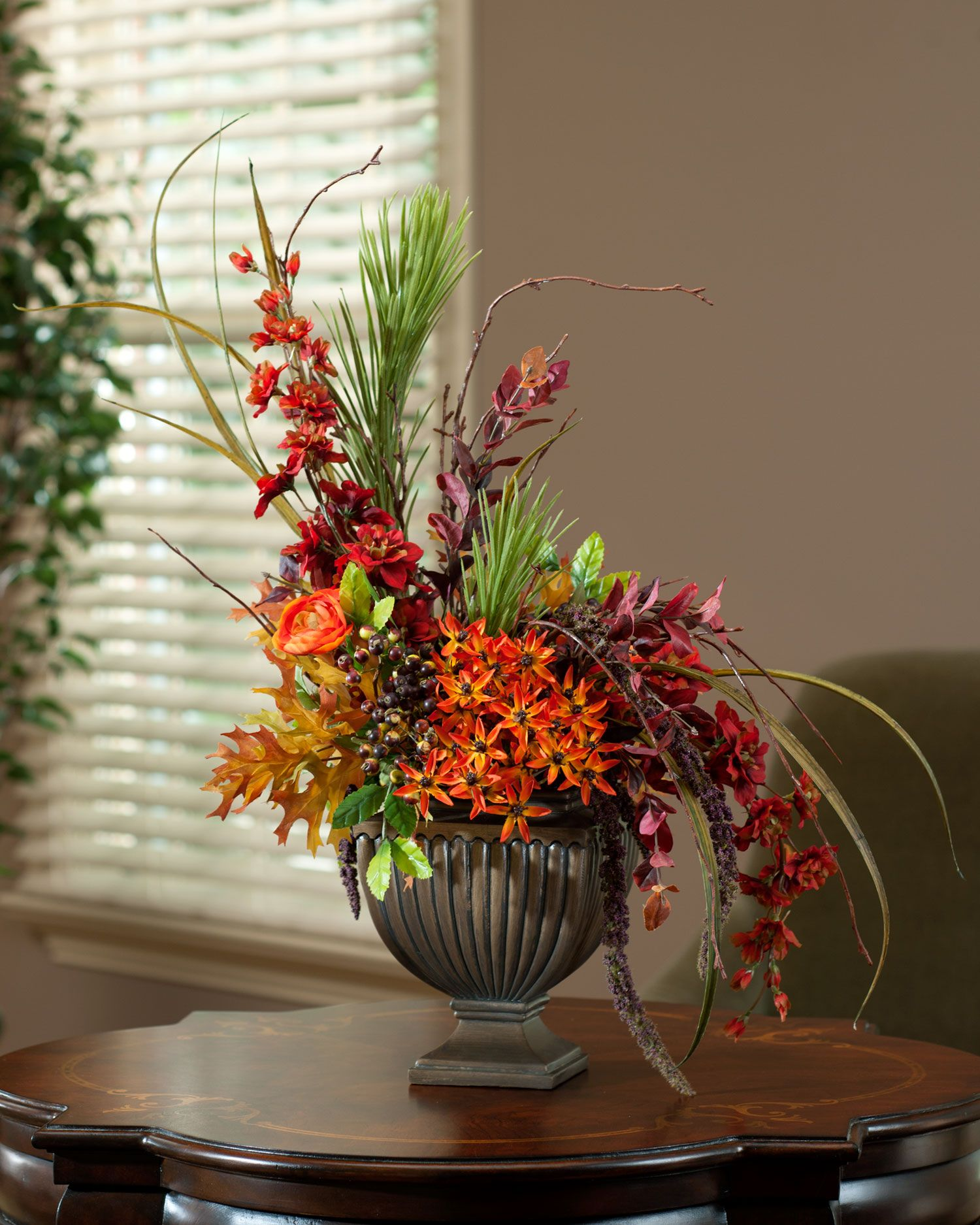 Designers delight silk flowers fall collection for all your shop for designer quality handcrafted silk flower arrangements centerpieces and realistic artificial plants and trees at officescapesdirect mightylinksfo