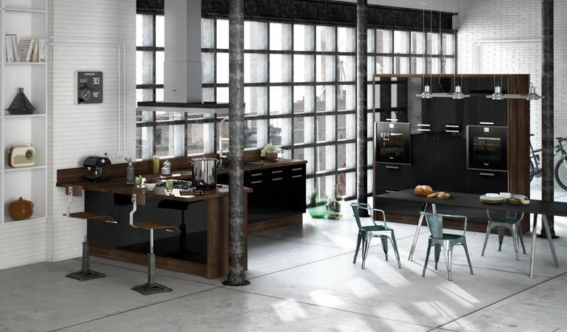 quality, modern fitted kitchens | dm design - phoenix - gloss