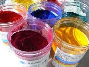 They are dry colorants which are grounded to make it into a fine ...