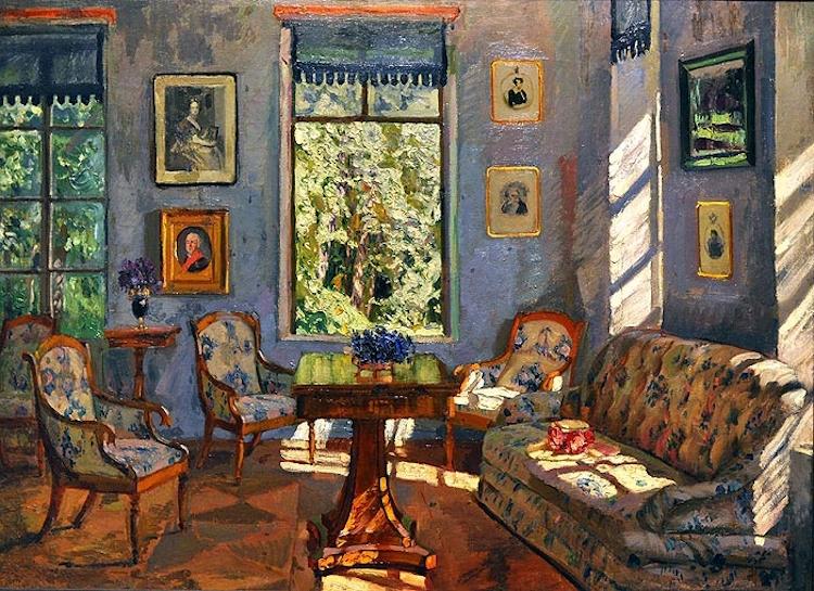 интерьеры в картинах художников котором расположен