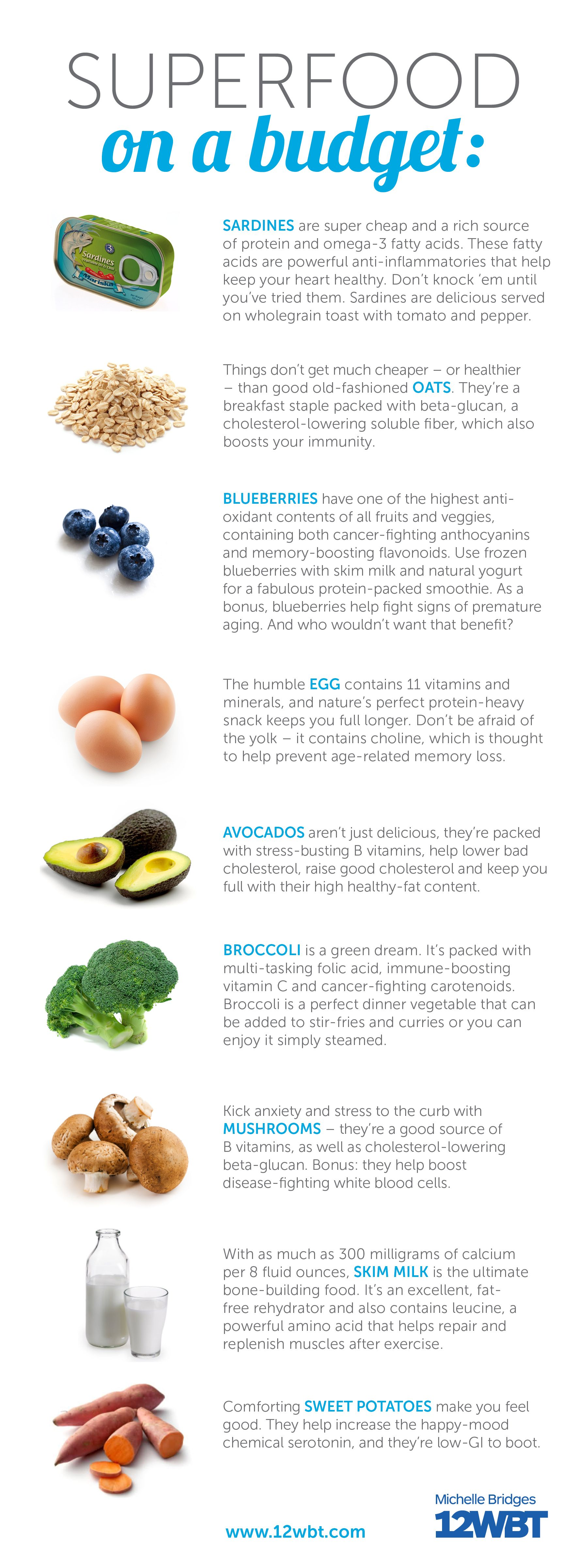 Superfoods don't have to come at a SUPER cost! Check out