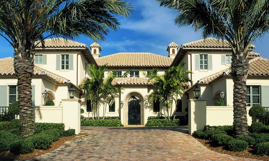 Custom Homes French Mediterranean John Mcdonald Co Custom Home Builder
