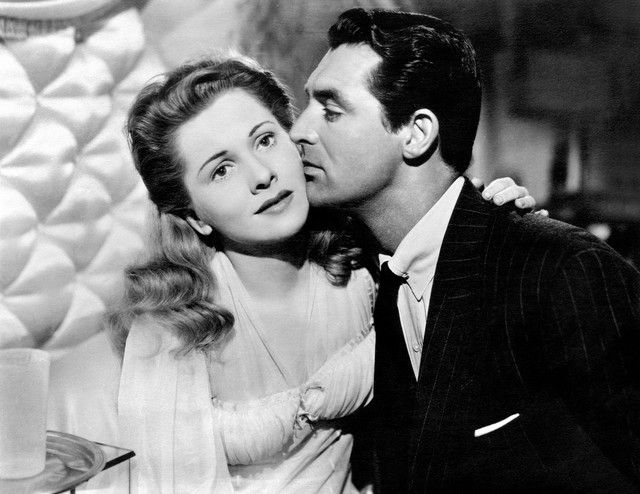 Joan Fontaine & Cary Grant