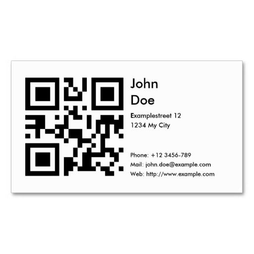 Card address phone email web business card templates qrcode card address phone email web business card templates accmission Gallery