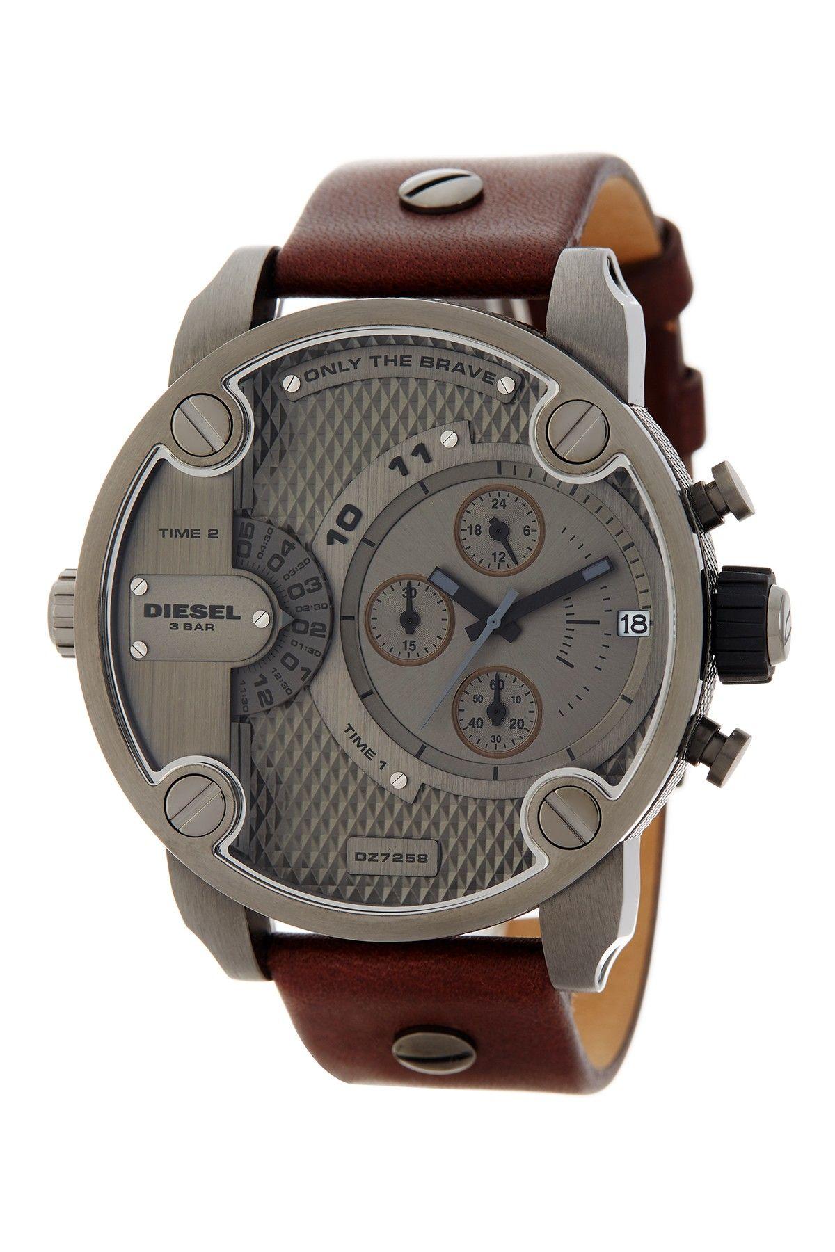 Men s Chronograph Little Daddy Strap Watch 7f02201db300