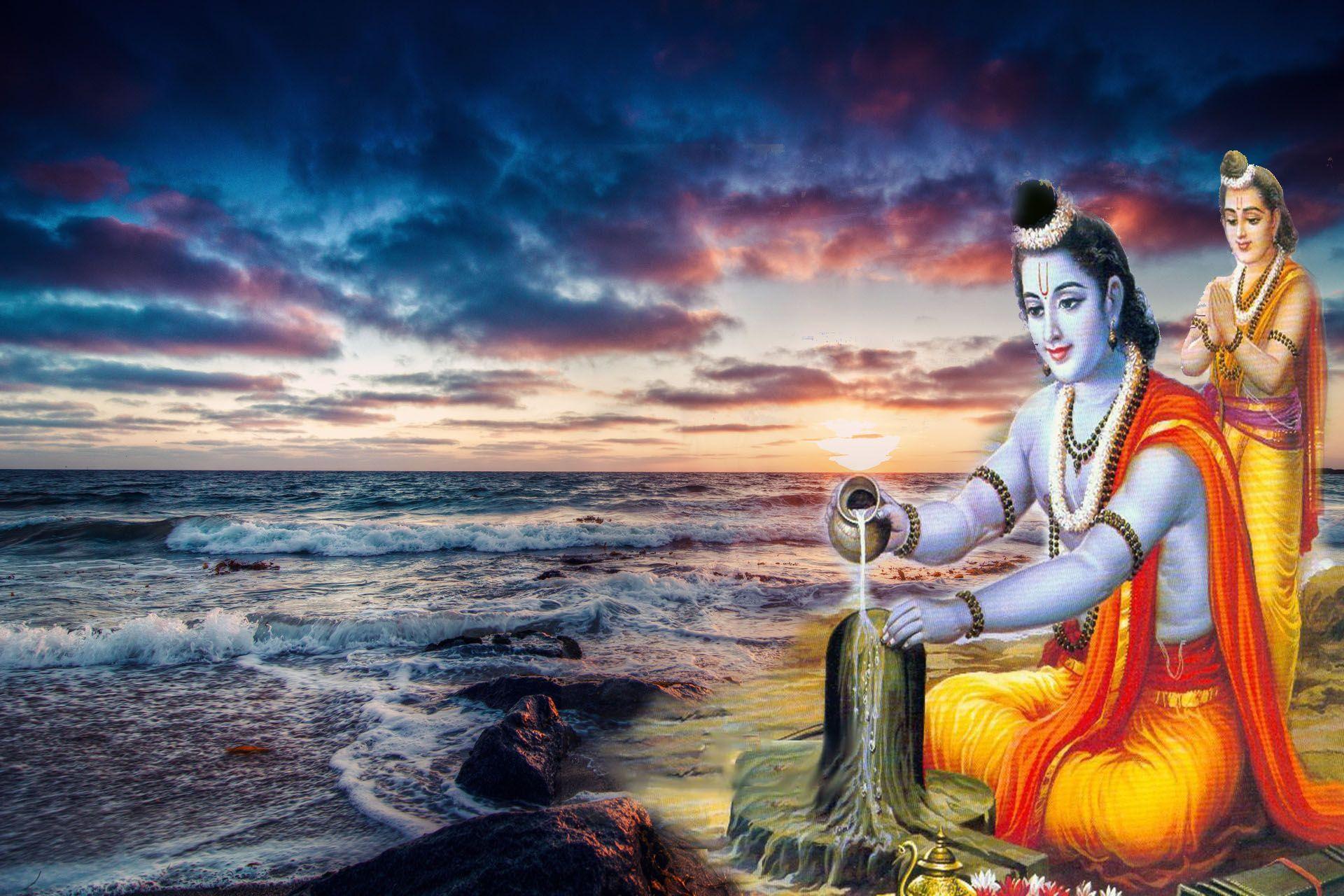 High Resolution Indian God Wallpapers Rama Image Hindu Gods Vishnu