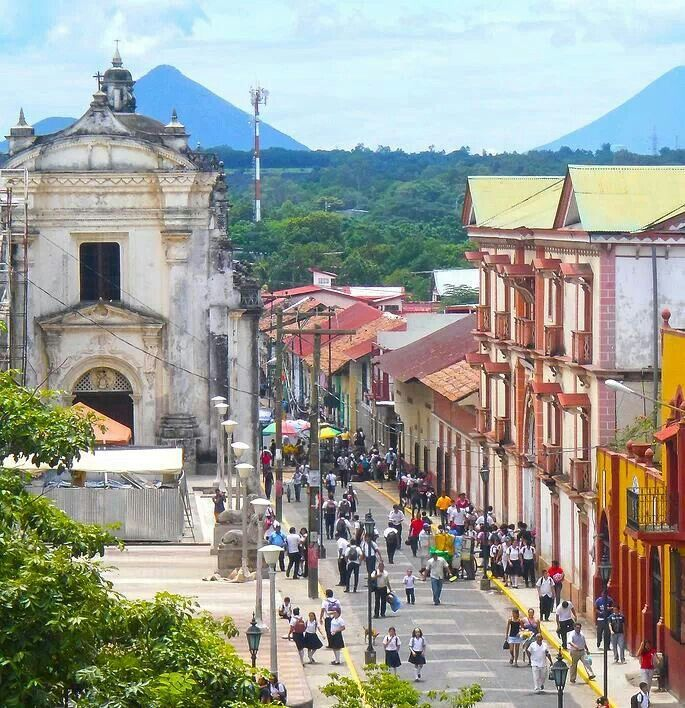 Backpacking In Central America: Leon . Nicaragua