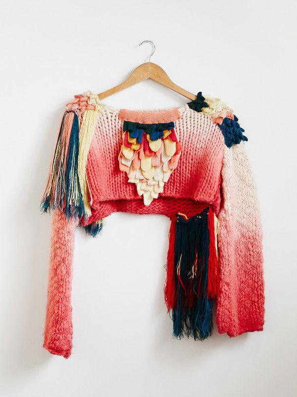 Eileen Braybrook – The Design Files | Australia's most popular design blog. – Art textile Macramé Tapisserie