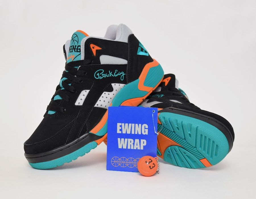 Patrick #Ewing Wrap Miami Dolphins #sneakers