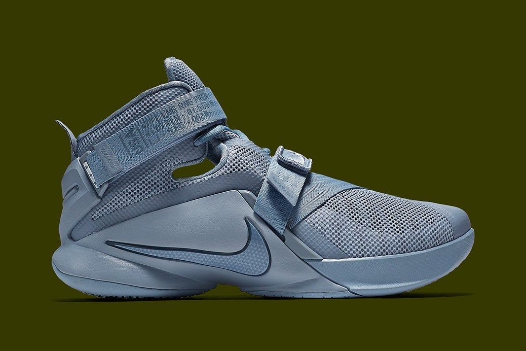 06ce62b76da55 Nike LeBron Soldier 9 Takes on More Military-Inspired Motifs